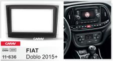 Car Stereo Radio Fascia Panel 2 Din Frame Kit for FIAT Doblo 2015+  CARAV 11-636