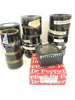 Real 35mm Theater Trailer Film Reels Coca Cola Dr Pepper Academy Awards Previews