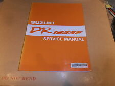 SUZUKI DR125 SE 94 MODEL GENUINE SERVICE MANUAL
