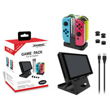 For Nintendo Switch (Charging Dock, Folding Stand) Game Packs Accessories Sets