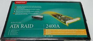Adaptec ATA RAID 2400A 32-bit PCI ATA/100 RAID Card AAR-2400A/EFIGS KIT
