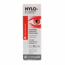 HYLO-FORTE® Preservative Free Lubricating Eye Drops - 7.5ml (Contact lens drops)