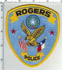 Rogers Police (Texas) 2nd Issue Shoulder Patch