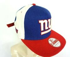 New York Giants New Era 9Fifty blue white red cap hat flat bill buckle back