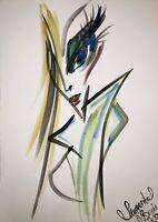 Margarita Bonke Malerei PAINTING erotica EROTIK Zeichnung akt nu art nude Kunst