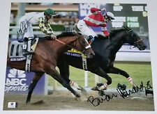 BRIAN HERNANDEZ MIKE SMITH Dual Signed 11x14 Photo Fort Larned Mucho Macho Man
