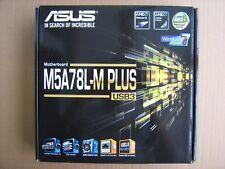 Motherboard ASUS M5A78L-M PLUS/USB3 AM3+ 4x DDR3 mATX HDMI DVI D-Sub SATA Raid