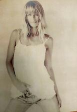 François DARMIGNY  - Eight by ten - Photo, signed - Claudia Schiffer..