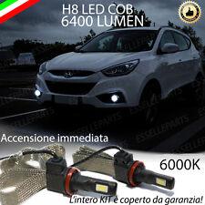 KIT FULL LED HYUNDAI IX35 RESTYLING LAMPADE H8 FENDINEBBIA CANBUS 6400L 6000K