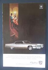 1969 Cadillac Sedan deVille Vintage Print Ad