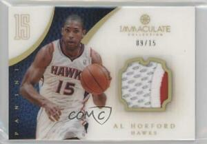 2012-13 Panini Immaculate Jersey Number /15 Al Horford #1