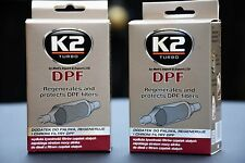 2x DPF K2 REGENERATES AND PROTECTS DPF PARTICULATE FILTERS  CLEANER ALL DIESEL
