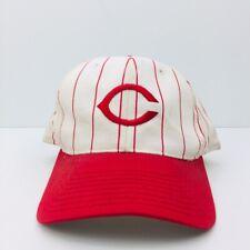 Cincinnati Reds Pinstripe Snapback Ball Cap