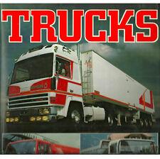 "THOMAS ""TRUCKS"" 1981 ED HC/DJ NF/VG+ GREAT HISTORY AND PHOTOS OF TRUCKS"