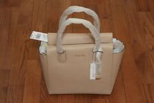 NWT Michael Kors $328 Studio Mercer Large Satchel Tote Handbag Oyster