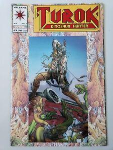 TUROK DINOSAUR HUNTER #1 (1993) VALIANT COMICS CHROMIUM COVER! BART SEARS ART!