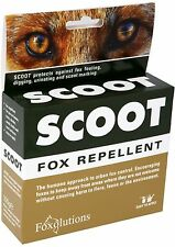 Scoot Fox Repellent ( Humane Approach To Urban Fox Control )