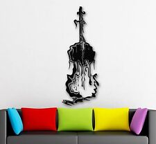 Wall Stickers Vinyl Decal Abstract Guitar Music Musical Instrument (ig1802)