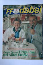 DDR Fernsehzeitschrift FF Dabei RARITÄT 33/1986 TOP !!