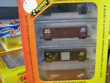 Roundhouse N Scale #89504 Seaboard 50' Boxcars (4 pack)
