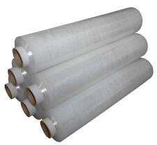 Clear 17mu 500mm x 300m Pallet Stretch Wrap Film x 6