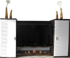 Designer Wohnzimmer TV-Anbauwand Medienwand Fernsehwand Fernsehschrank Wohnwand