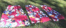 Mickey & Friends Disney Kids Curtain Set - 3 Panels  Cartoon Donald Duck     -E2