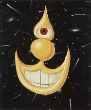"KENNY SCHARF 'Space Happy', 2012 Limited Edition Giclée Print 24"" x 20"" *NEW*"