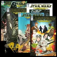 STAR WARS Adventures #1 Cover A B 1:10 1:25 1:50 Variant SET of 5 IDW Comics NM!