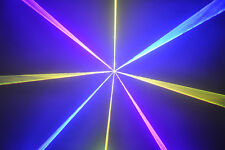 **Neu** Mini NetLine Dioden RGB Laser System 2500 mW ILDA