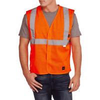 Walls Mens Orange Hi-Vis Reflective Vest Class 2 Level 2 size XL NEW