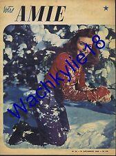 Votre amie n°58 du 10/12/1946 Montagne Bas Hélios noël James Mason Mode Fashion