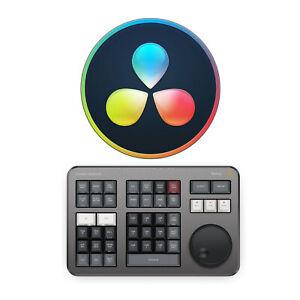 Blackmagic Design DaVinci Resolve Studio with DaVinci Resolve Speed Editor