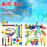 18X Diving Rings Children Swimming Pool Underwater Games Kids Water Play