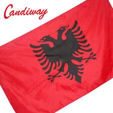 Republika e Shqipërisë flag 90*150 cm Albanian Banner Albania National flags