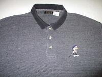 Foursome Mens XL Casual Disney Grumpy Dwarf Short Sleeve Polo Golf Rugby Shirt