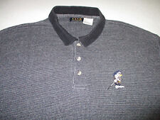 Foursome Mens XL Casual Disney Grumpy Dwarf Short Sleeve Polo Golf Rugby Shirt