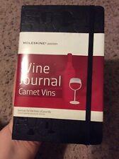 Moleskine Passions Hard Cover Wine Journal Carnet Vins Black Book