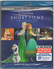 WALT DISNEY SHORT FILMS COLLECTION (Blu-ray/DVD, 2015, 2-Disc Set) NEW