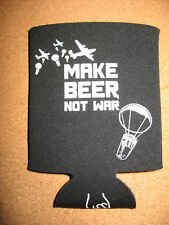 Karl Strauss Brewing Company Beer Can Koozie Cooler NEW Make Beer Not War set 2