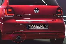 NEW GENUINE VW POLO 6R 1.2 ACCESSORY 76MM EXHAUST TAILPIPE TRIM