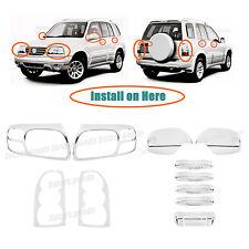 Accessories Chrome Molding Covers Trims For 2004-2005 Suzuki Grand Vitara SUV