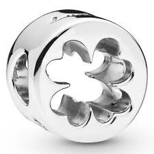 PANDORA Charm Element 797868 Clover Kleeblatt Glück Silber Bead