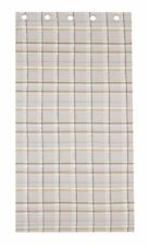 Polycotton Checked Curtains & Pelmets