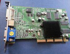 Vintage Radeon 7000 64MB VGA S-video DVI AGP video card