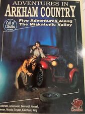 Chaosium Call of Cthulhu Adventures in Arkham Country SC VG+