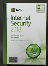 AVG Internet Security 2013 Includes Antivirus for Android Device New
