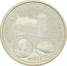 O4228 Médaille Notre Dame Reims 2011 Argent Silver PROOF BE ->Faire offre