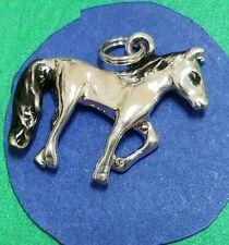 Charm V11 Horse Sterling Silver Vintage Bracelet
