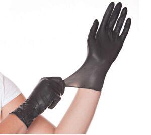 Nitril Handschuhe Einweghandschuhe schwarz weiß blau kobalt 100 / 200 Stück Box